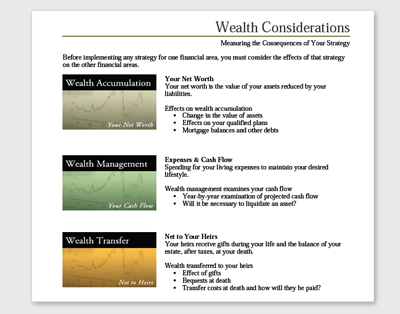 Wealth Distribution Analysis Screenshot